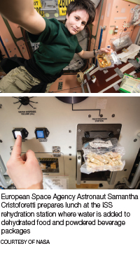 years nasas space food packaging documented