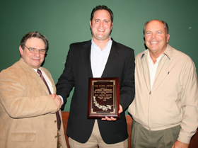 Andrew Christman Presented with Tom Evans Award - Image