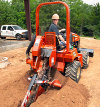 Ditch Witch RT45 trencher - Image