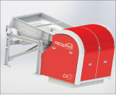 Redwave three-way glass sorting machines