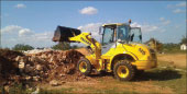 Palazzani articulated wheeled loader