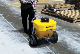 Electric-Powered Push Sprayer - Image