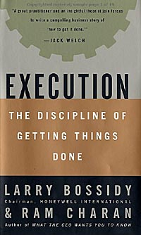 Execution: The Discipline  of Getting Things Done - Image