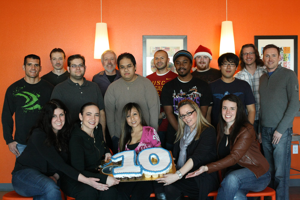 Structure Studios celebrates 10 years in business.