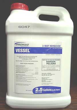 PROKoZ Vessel 3-Way Herbicide - California label - Image