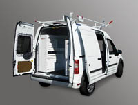 Van storage for Ford Transit Connect - Image
