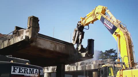 Doyle Drive Demolition Video - Image