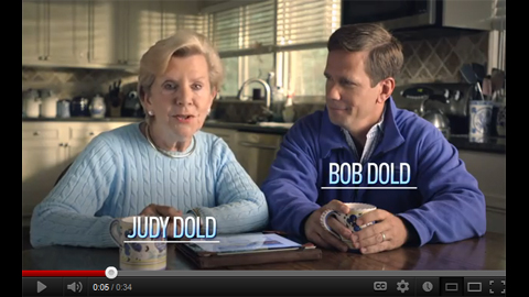 Dold for Congress TV Spot Featuring Judy Dold - Image
