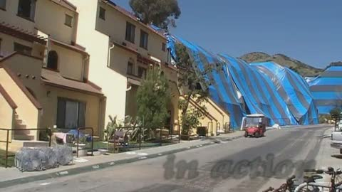 Fumigation on Catalina Island - Image