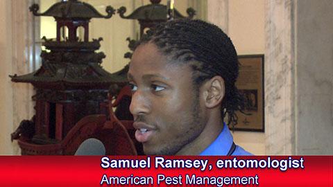 New Entomologist Samuel Ramsey - Image