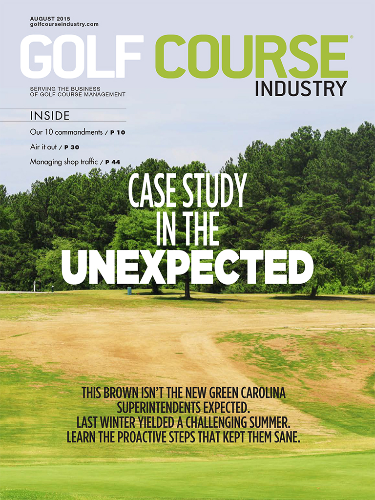 Golf Course Industry cover