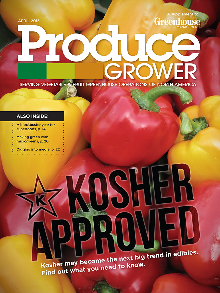 Produce Grower cover