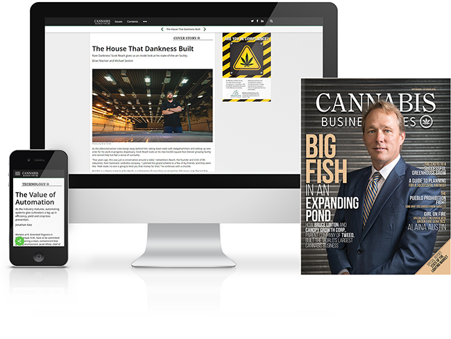 Cannabis Business Times Subscribe