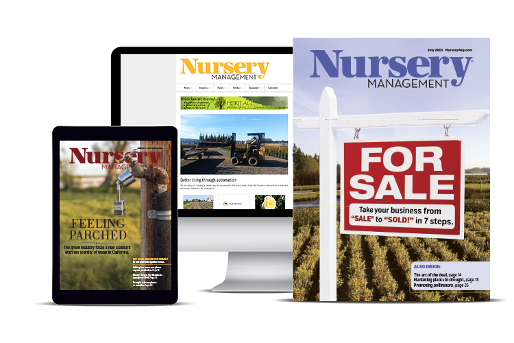 Nursery Management Subscribe