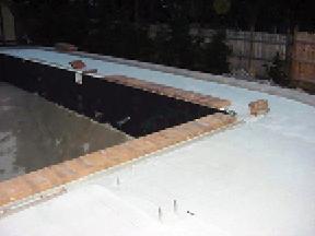 concrete pavers around pools - lawn & landscape