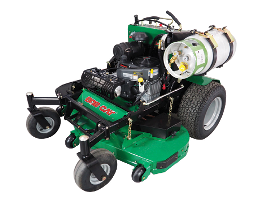 Power with propane - Lawn & Landscape