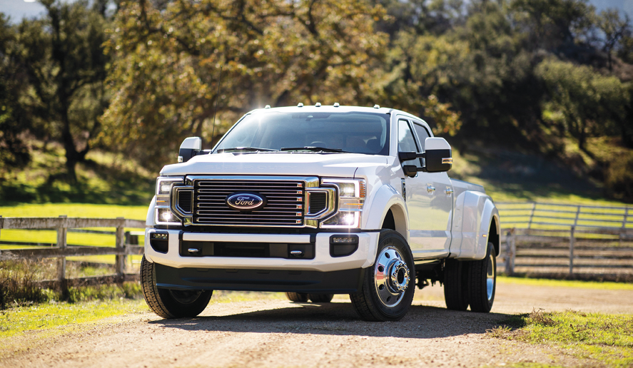Ford debuts 2020 F-Series Super Duty pickups - Lawn ...