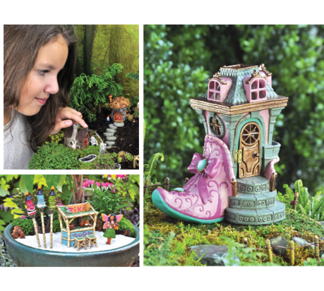 Marvelous The Georgetown Home And Garden Fiddlehead Fairy Line Includes 500 Types Of  Fairy Homes And Figurines.