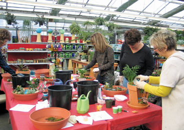 In Addition To Retail Wagners Also Supplies Other Garden Centers With Plugs And Fl Cuttings
