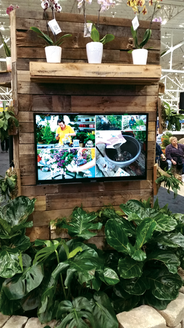 Video Displays At Petitti Garden Centers Are Intended To Give Customers  Ideas And Tips For Their Projects At Home, Like Building Container Gardens.