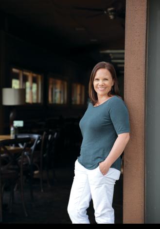 Wilson Nurseries Owner Jennifer Stands At The Entrance Of Sage Garden Café On Property Her Frankfort Ky Location