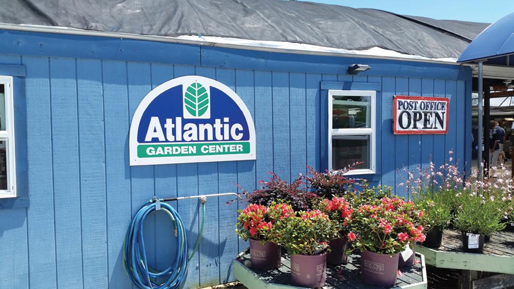 Exceptional The Exterior Of Atlantic Garden Center.
