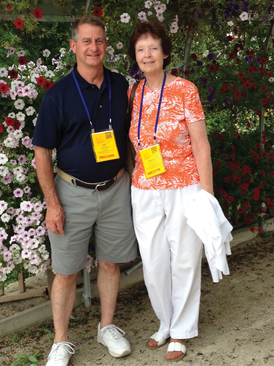 Ed And Margy Kopec Both Take Pride In Bringing Creativity To Their Garden  Center And Trying New Things Together.