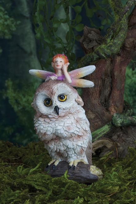 Fairy And Owl Stake