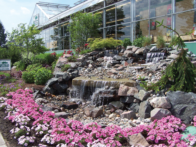 The Royal Oak Store Is One Of Five English Gardens Locations And Features  An Inspirational Landscape Design Near The Front Entrance.