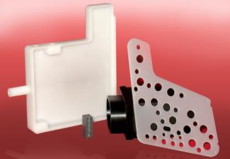 Machined plastic aerospace parts - Aerospace Manufacturing and Design