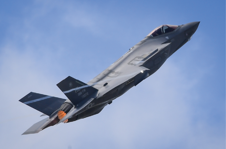 The U.S. Air Force demonstrated the F-35A in its  Paris Air Show debut. Photo: U.S. Air Force
