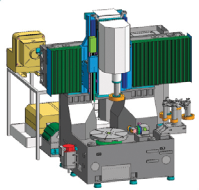 Cylindrical grinding machine - Aerospace Manufacturing and