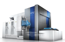 5-axis vertical machining center with auto work changer