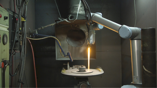 Cobots for harsh environments - Aerospace Manufacturing and Design