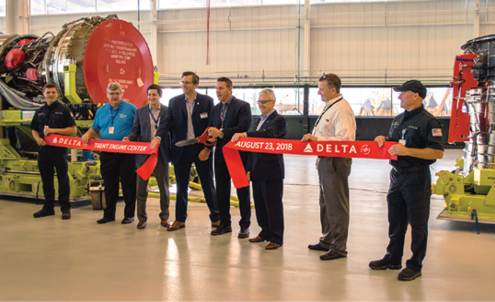 Delta opens engine shop - Aerospace Manufacturing and Design