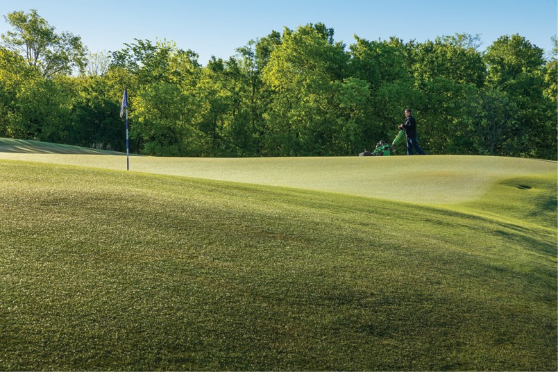 Making the cut - Golf Course Industry