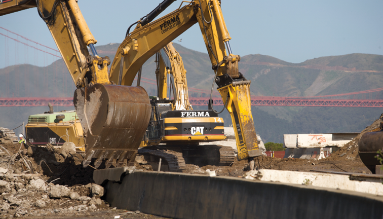 Making the breaker - Construction & Demolition Recycling