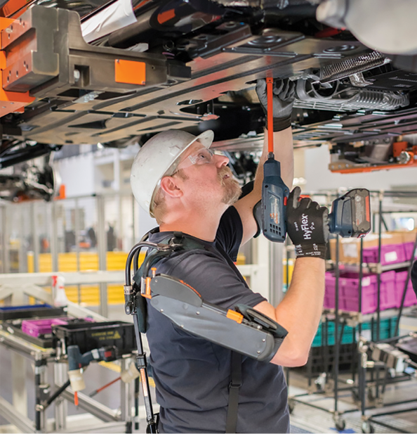Bmwpany In Germany: Exoskeletons Support BMW Line Workers In South Carolina